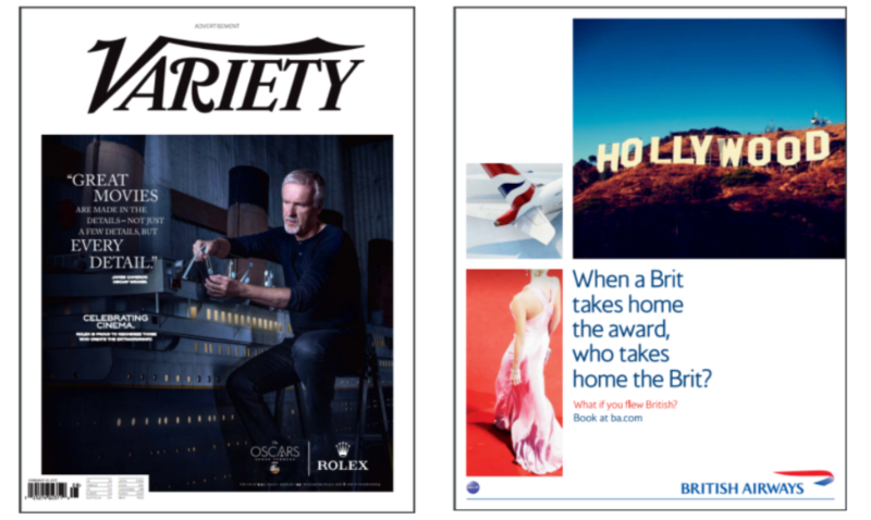 British Airways: Oscars LA