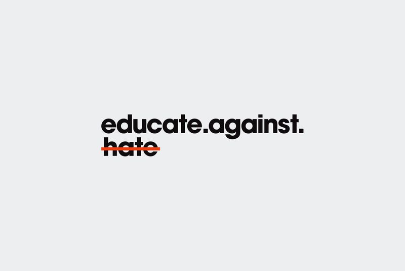 Educate Against Hate branding