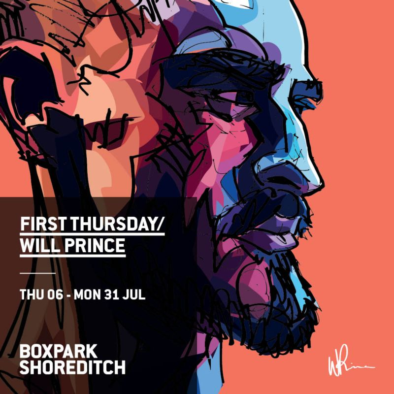 Will Prince Art Exhibition
