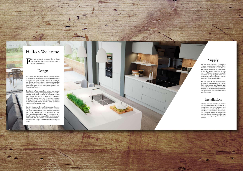 Brochure Design For The Hamilton Kitchen Company The Dots