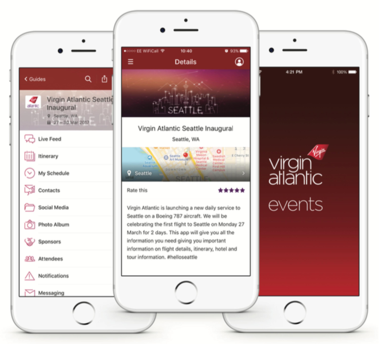 Image result for Virgin Atlantic app