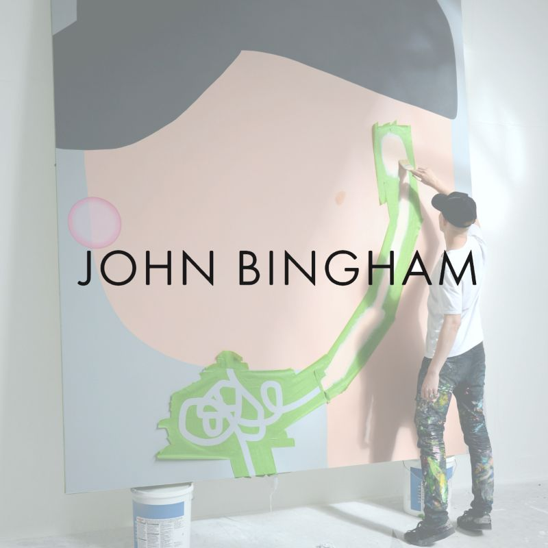 Interview with John Bingham, 'Introducing rising young artist Oli Epp'