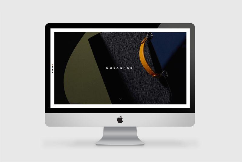 Nosakhari Website/Art direction