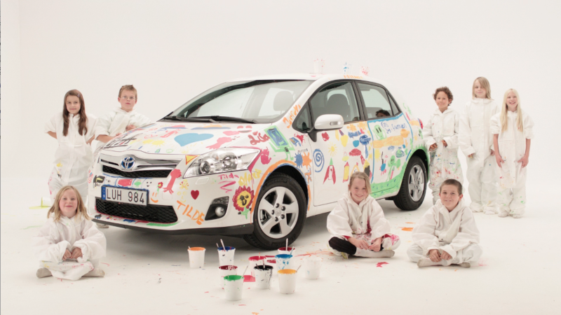 Toyota 'Child's Play'