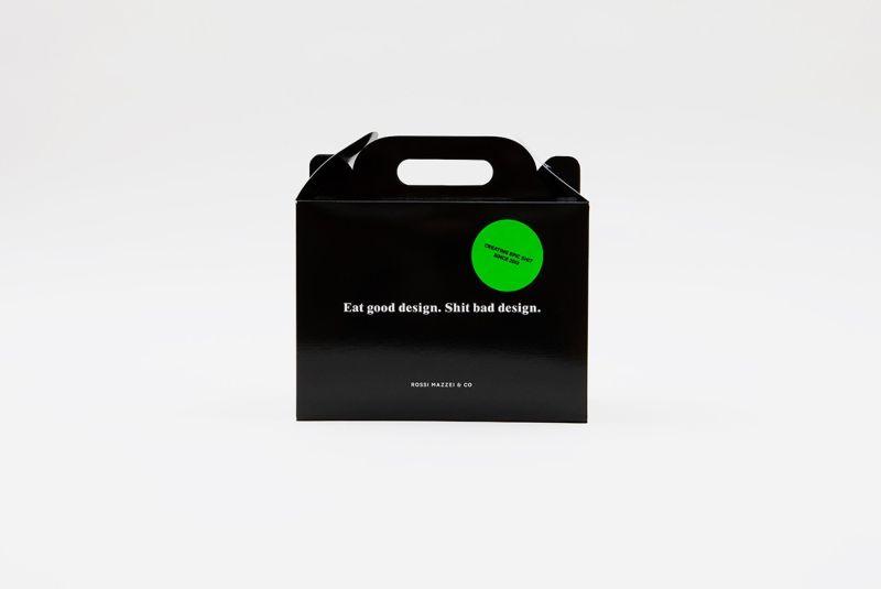 Eat Good Design. Shit Bad Design