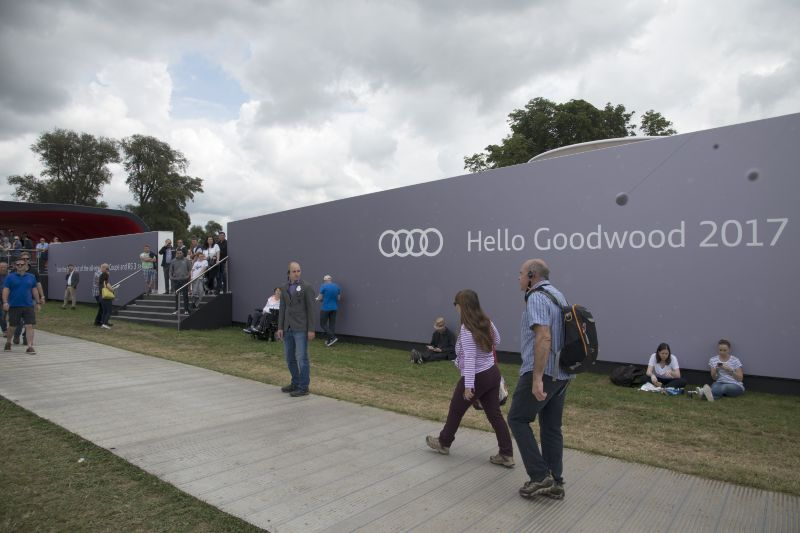 Goodwood 2017 - Stand branding
