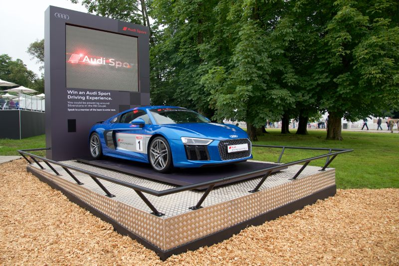 Goodwood 2016 - Stand branding
