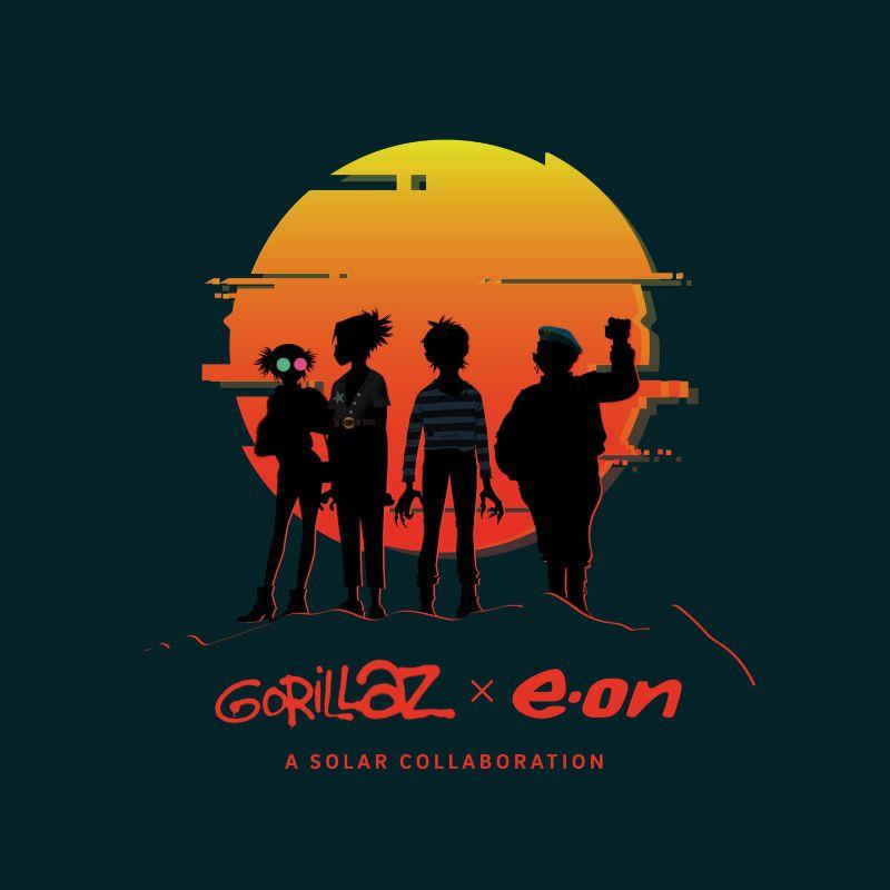 E.ON x The Gorillaz | A Solar Collaboration