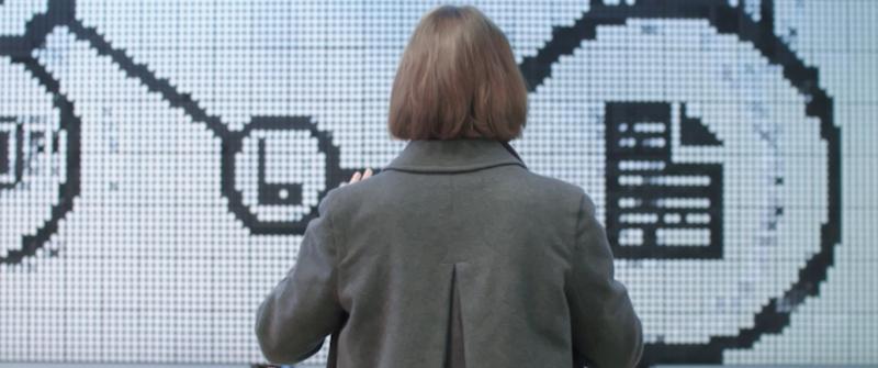 Flip-Dot Interactive Screen for Telefónica. Animations