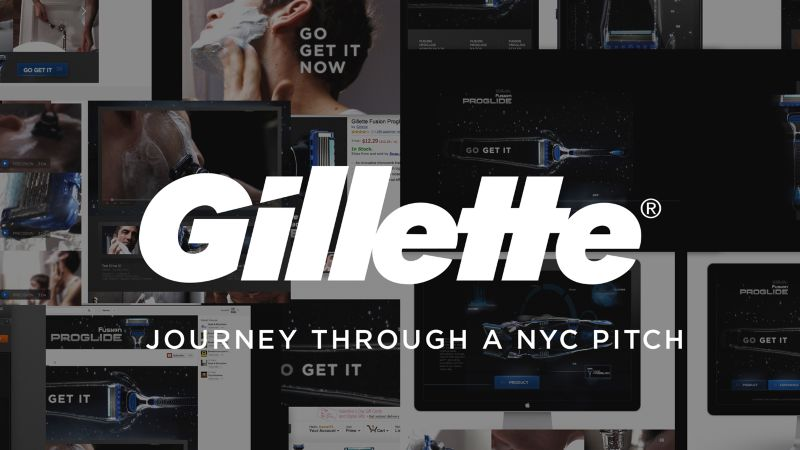 Gillette — Journey through a NYC Pitch