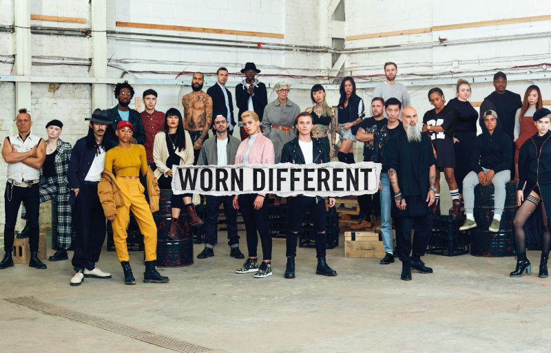 Dr. Martens AW17 #WORNDIFFERENT