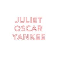 Juliet Oscar Yankee