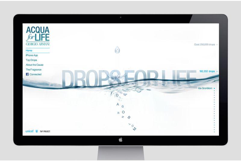 Giorgio Armani  - Drops For Life