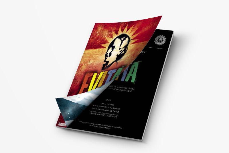 Evita Advertisement and Programme