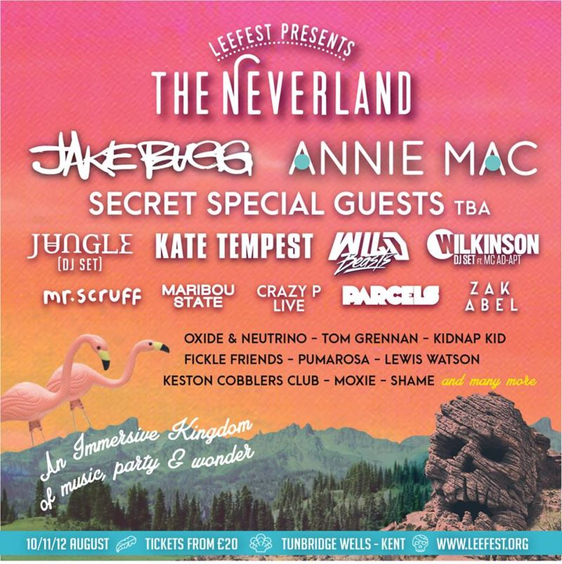 LeeFest: The Neverland 2017, 10-12th August - 10 reasons to join us in the field this year