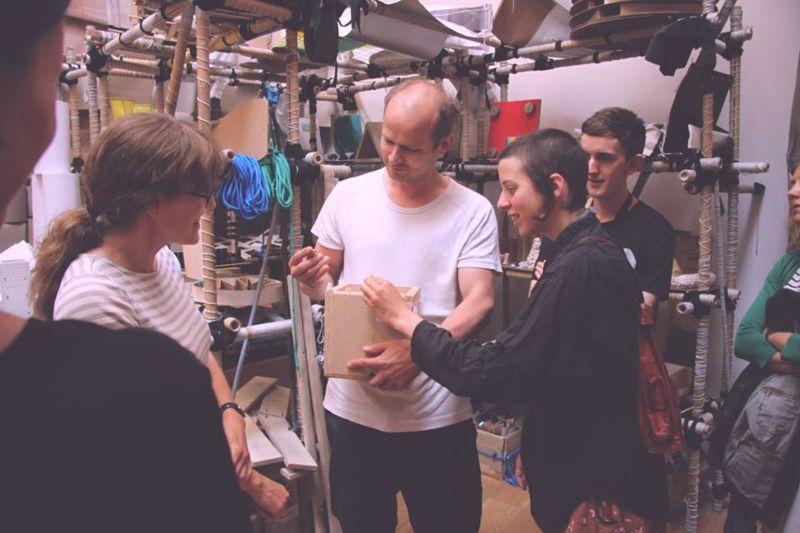 Michael Beutler Collaboration @ Nottingham Contemporary 2016