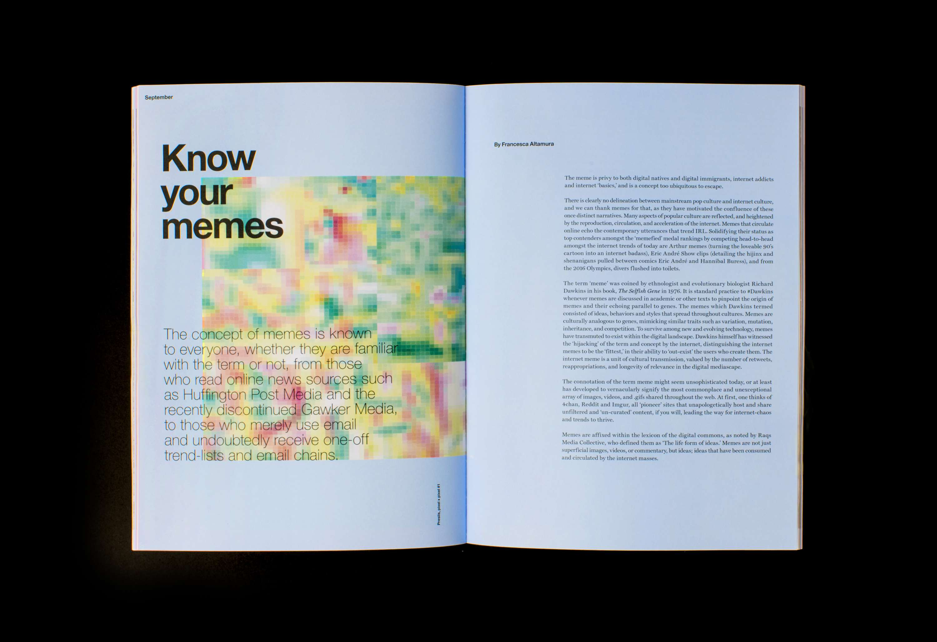 Screen Shot Magazine | Issue 02 | The Dots