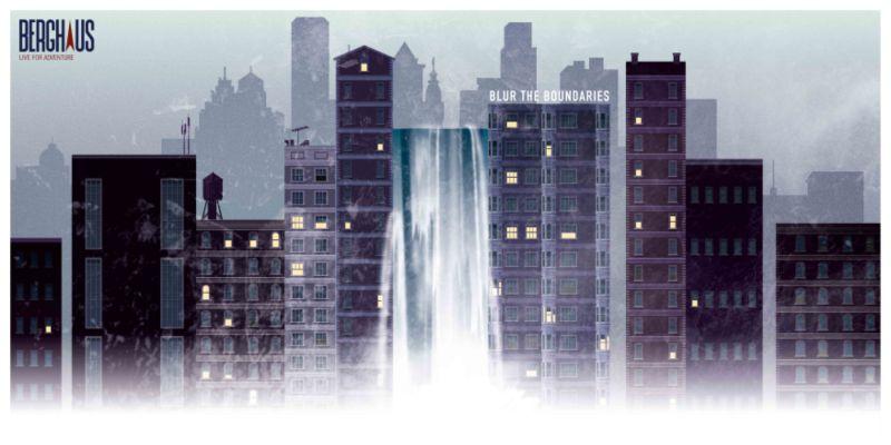 Berghaus Rebrand  and 'Blur the Boundaries' Campaign