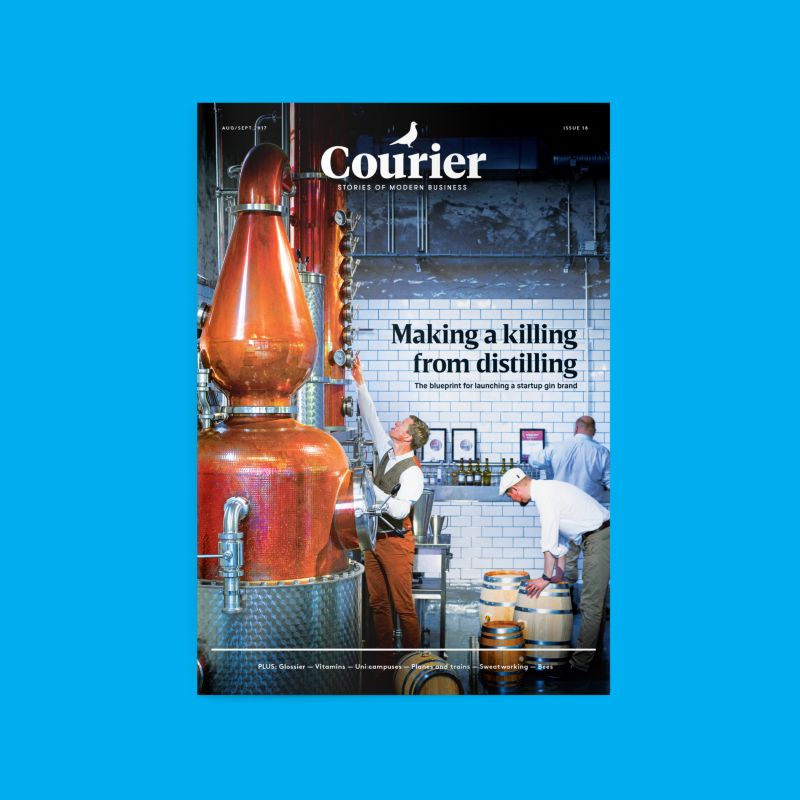 Courier 18: The business of distilling