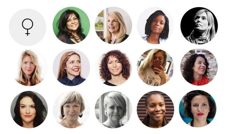 International Women's Day 2017:  150 Creative Leaders