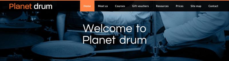 Copywriting: Planet Drum