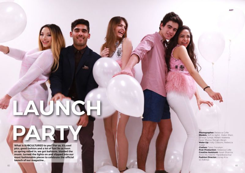 Issue 1 Cover Shoot - Launch Party
