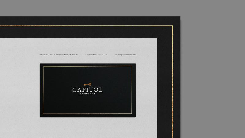Capitol Hardware | Identity Design
