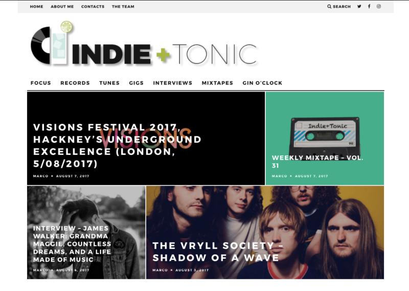 Indieandtonic.com