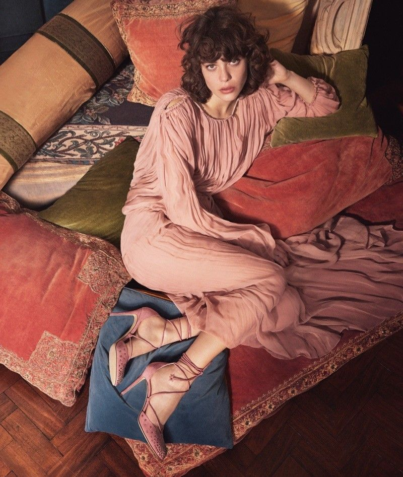 Theo Wenner : Jimmy Choo Campaign
