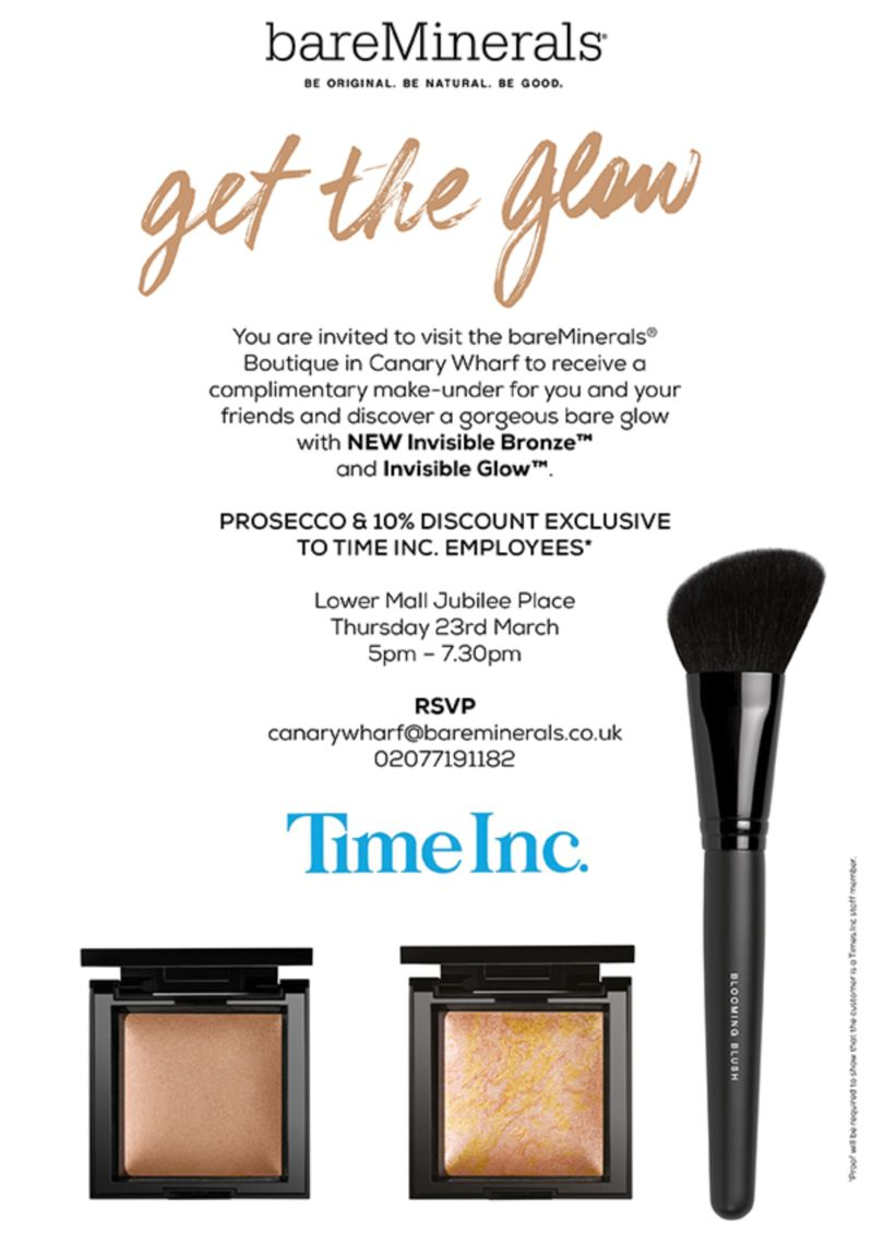 Bareminerals / Time Inc Event