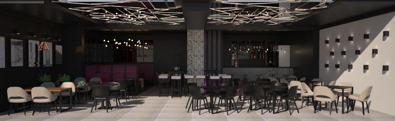 TAIM _lounge&bar _ interior design and realisation