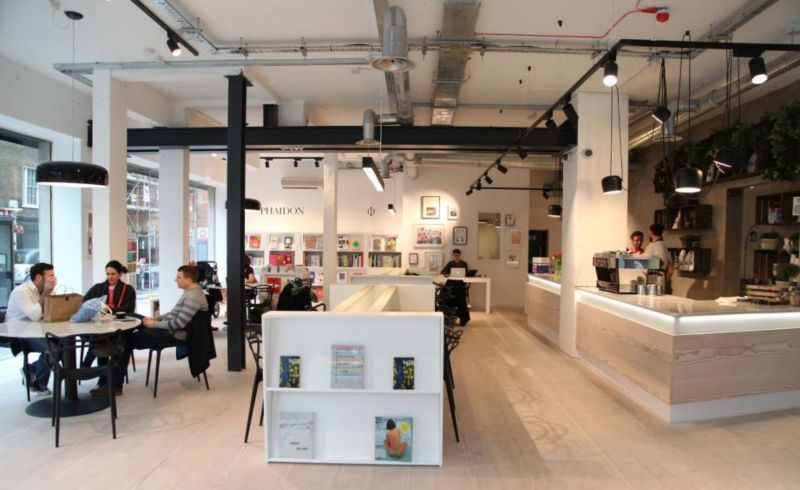 The Koppel Project: Phaidon bookshop, event space, pop-ups, artist studios and work hub