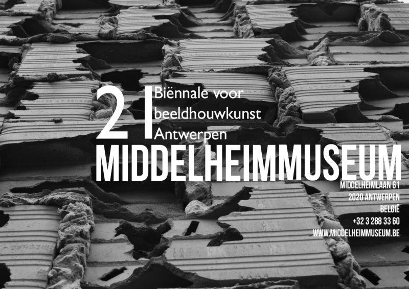 Poster series for 21st biennial for sculpture @ Middelheim Museum, Antwerp