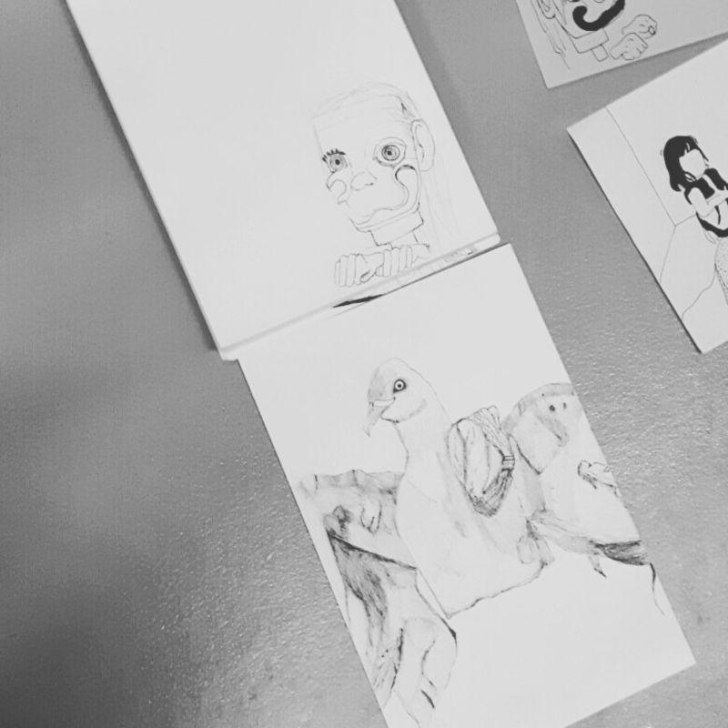Sketching, drawing, etc. ;-) love it.