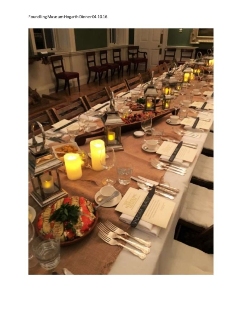Feeding the 400 - Foundling Museum