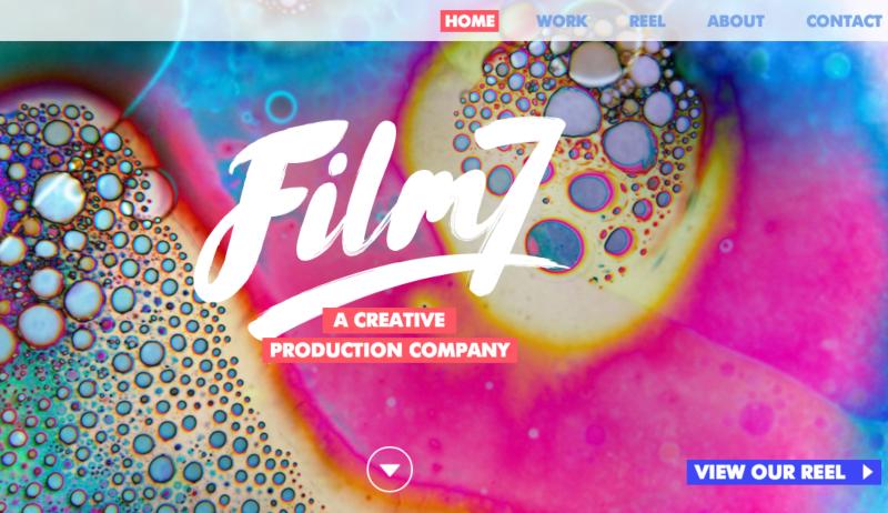 Film7 website build