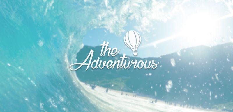 The Adventurous (brand identification design and clip)