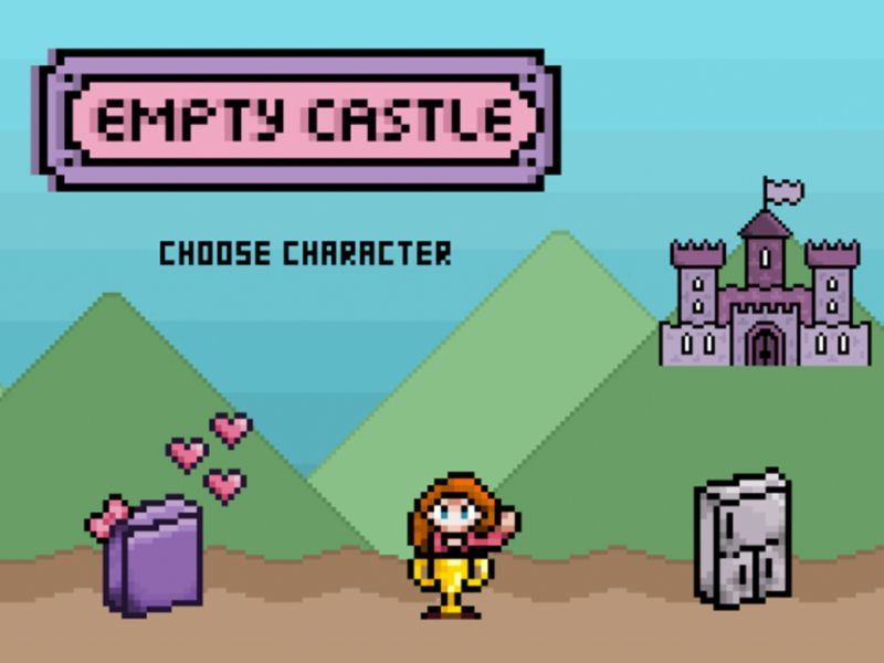 Empty Castle - Video Game Animation