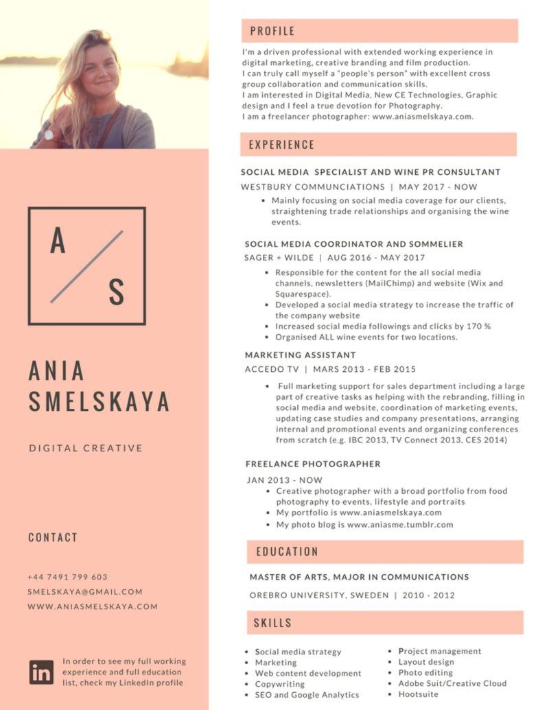 CV Ania