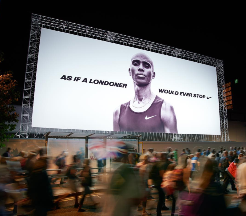 Nike Mo Farah OOH