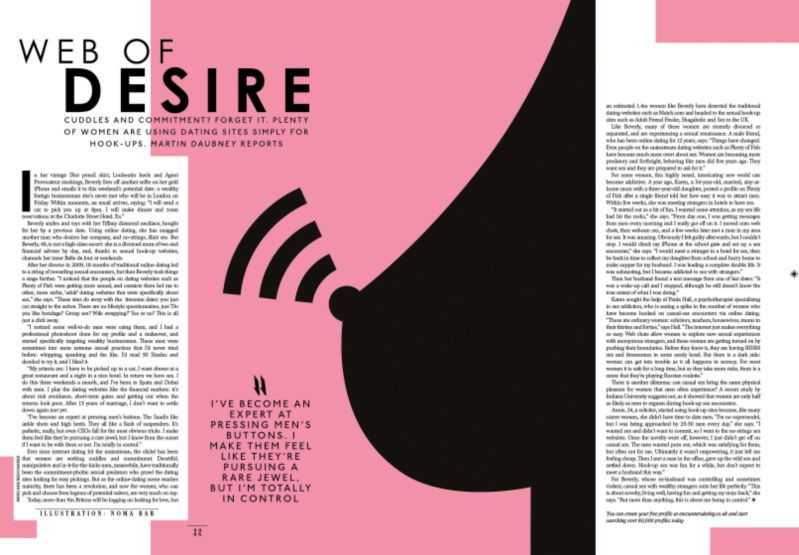 The Sunday Times Style Illustration by Noma Bar