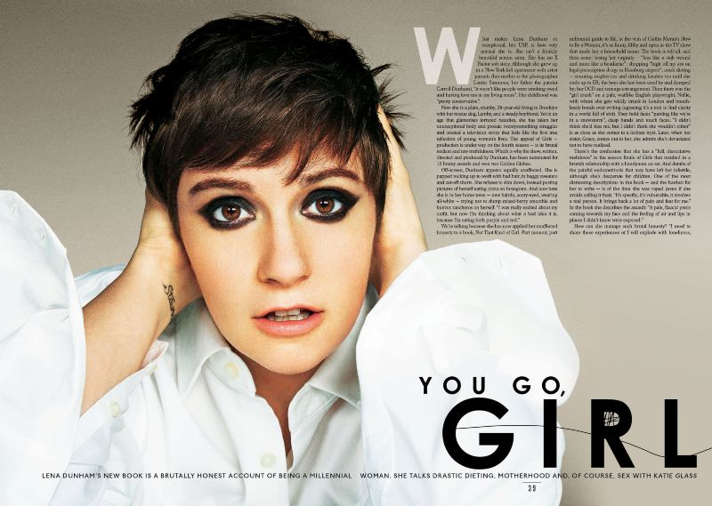 The Sunday Times Style featuring Lena Dunham