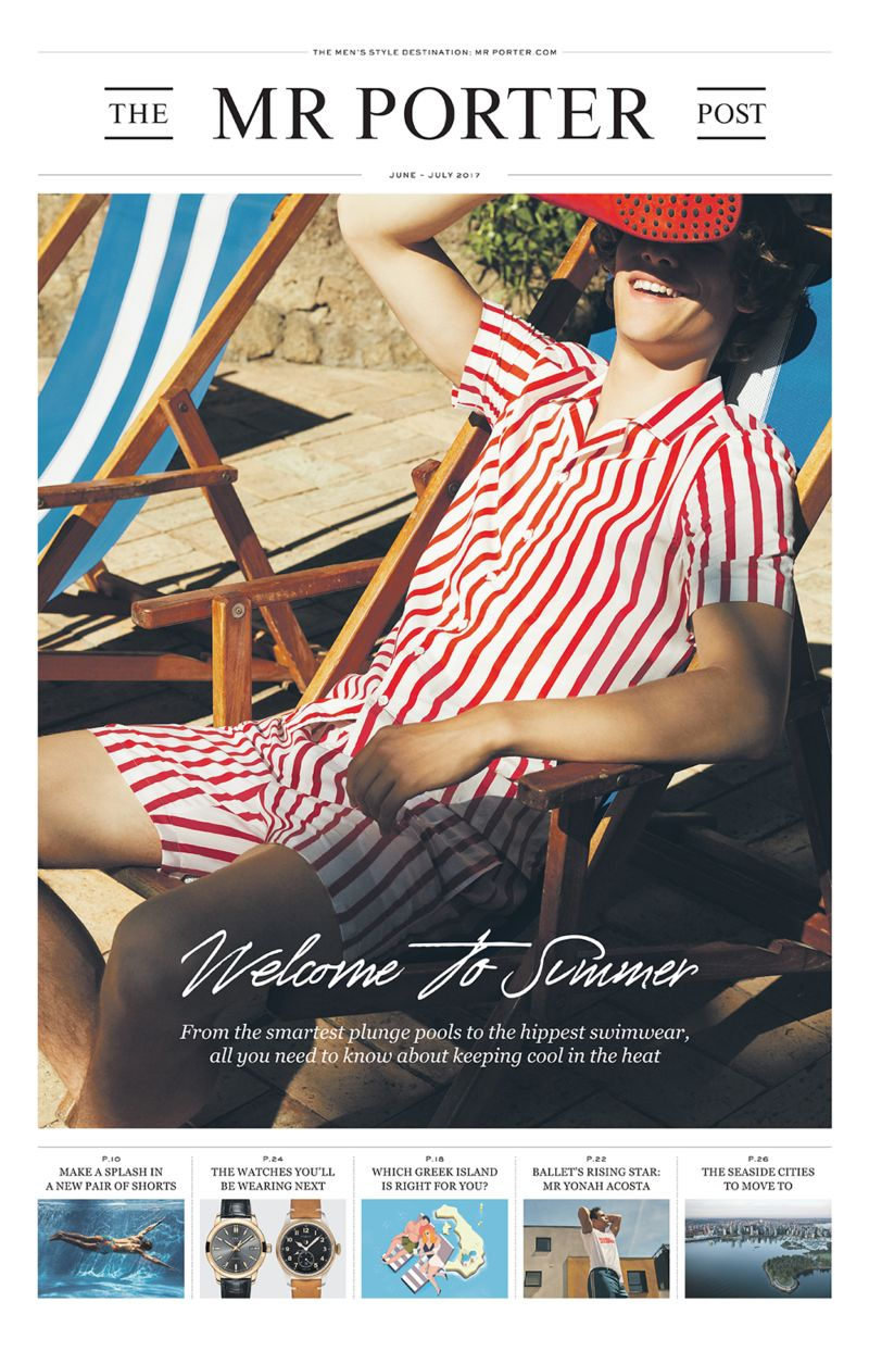 Mr Porter Post: Welcome To Summer