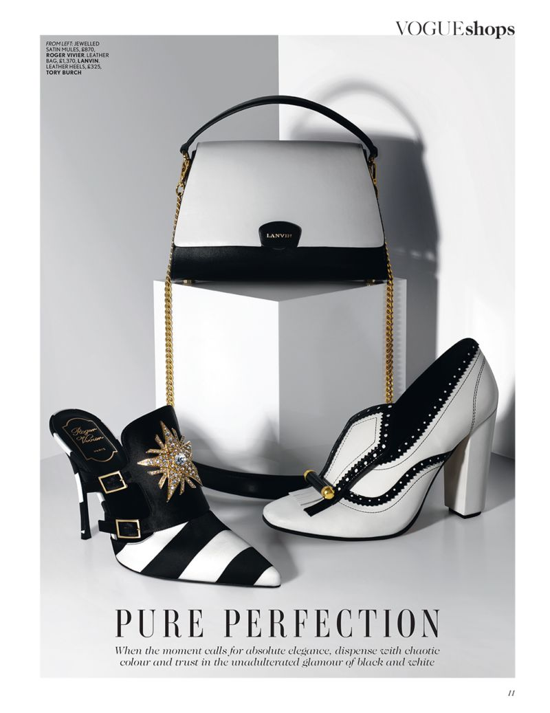 British Vogue Shop The Season: Monochrome
