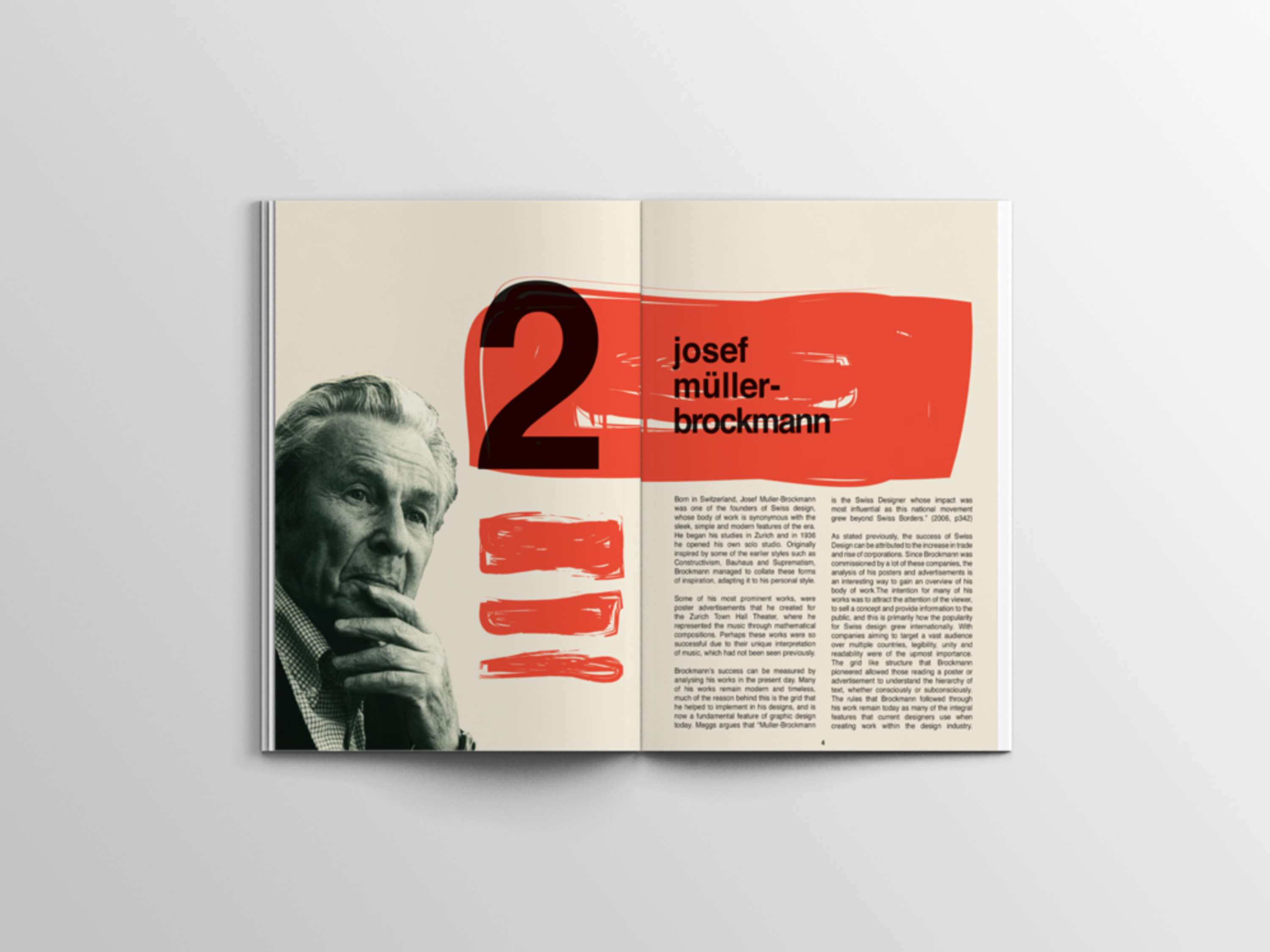 Swiss Design Booklet | The Dots