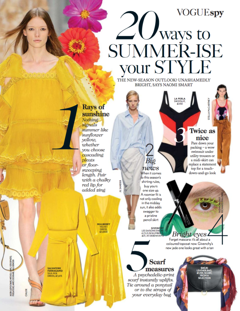 British Vogue: 20 Ways to Summer-ise Your Wardrobe