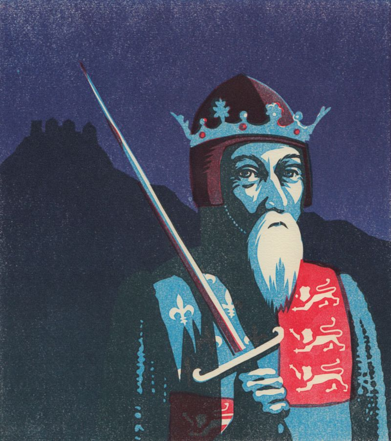 Edward III book cover illustration