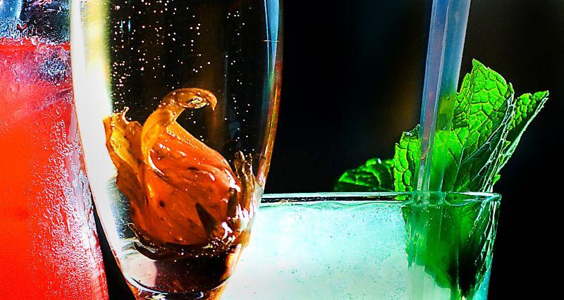 Cocktails & Sushi Photoshoot