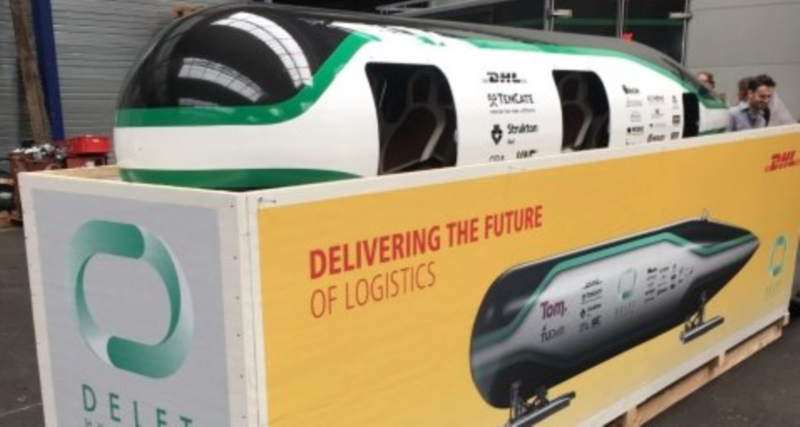 DHL & Elon Musk - Hyperloop