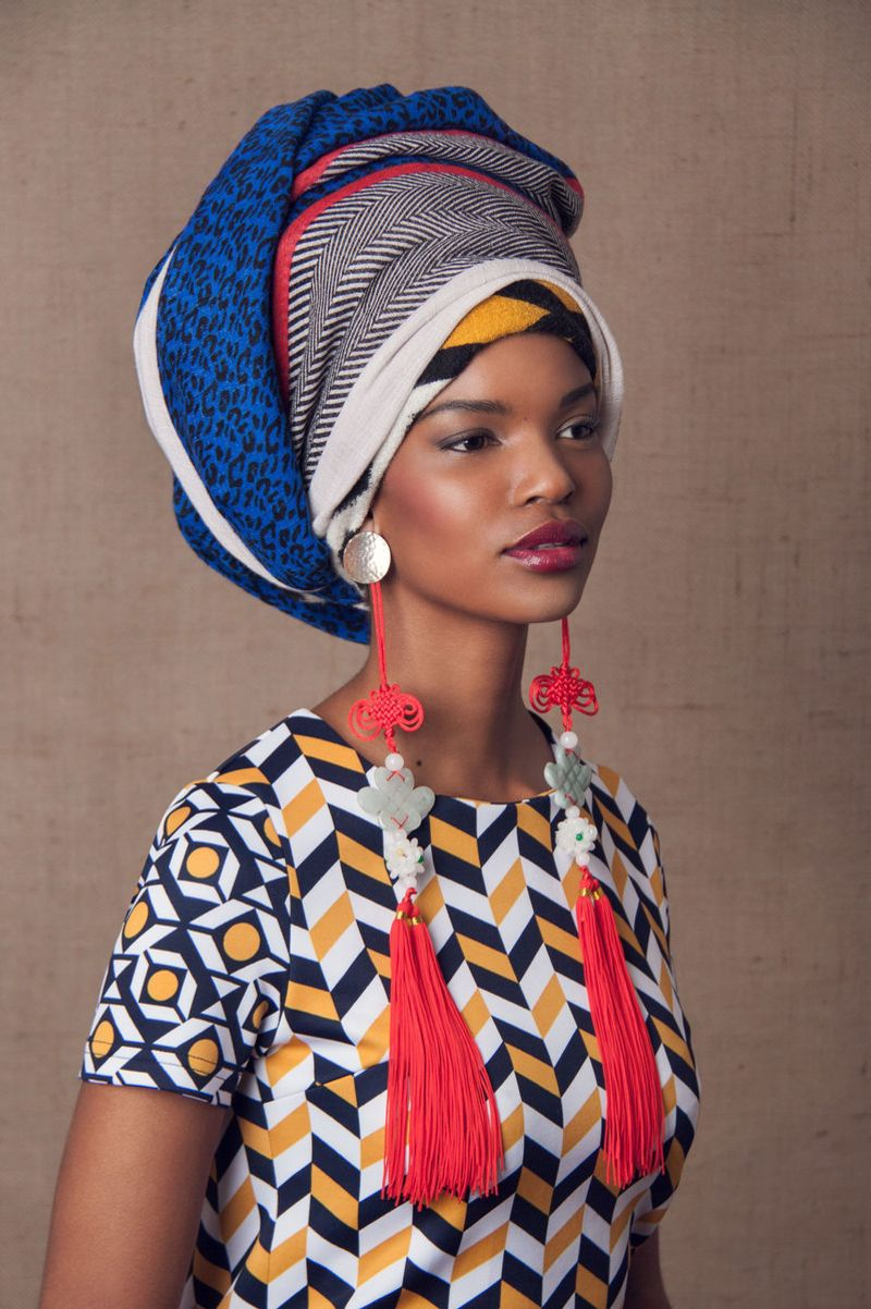 Head Dress | Editorial for Gaschette Magazine